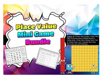 Place Value - Mini Game Bundle