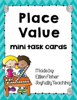 Place Value Mini Task Cards