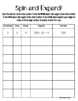 Place Value Pack {Centers to Reinforce Place Value}
