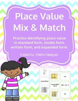 Place Value Mix & Match