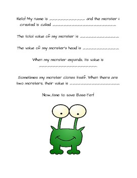 Place Value Monster!