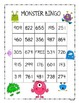 Place Value Monster BINGO with Numbers to 1,000