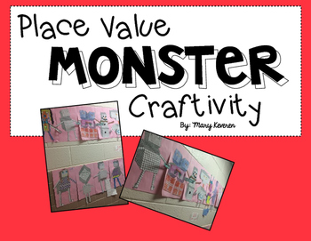 Place Value Monster Craftivity