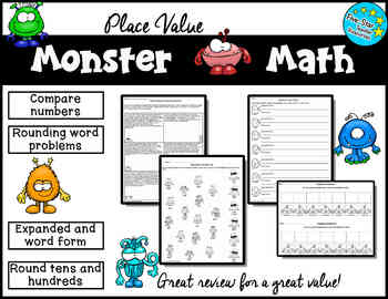 Place Value Monster Math