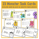 Place Value Monster Task Cards