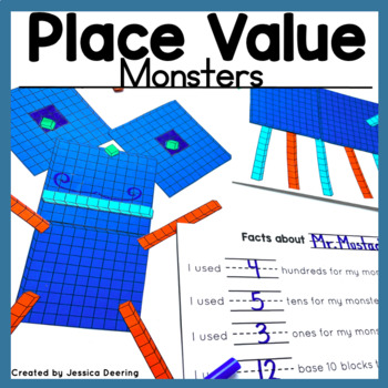 Place Value Activity- Creating A Place Value Monster