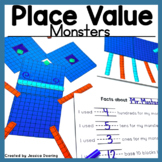 Place Value Activity -Creating A Place Value Monster