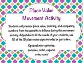 Place Value Movement Activity