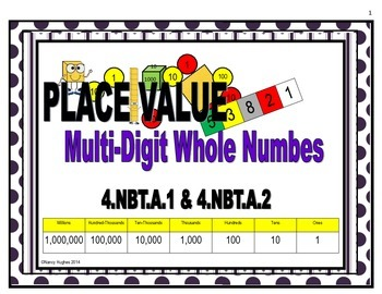 Place Value Multi-Digit Whole Numbers