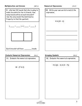 Place Value, Multiplication, and Expressions