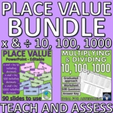 Place Value - Multiply and Divide by 10, 100 and 1000 PPT and Worksheet