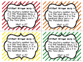 Christmas Math Place Value Worksheets Color-By-Number Code | TpT