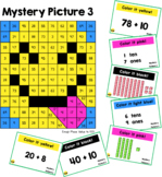 Place Value Mystery Pictures: Emoji Theme (0 to 100)