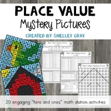 Place Value Mystery Pictures: Engaging Practice with Tens