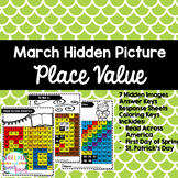 Place Value Mystery Pictures - March Edition