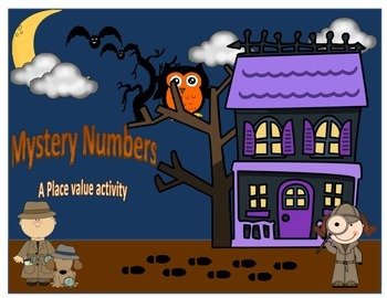 Place Value: Mystery numbers task cards