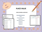 Place Value NO PREP Printables
