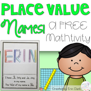 Place Value Names Craftivity {FREE}