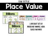 Place Value (Neon, Woodland, Black and White)