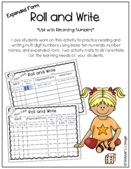 Place Value - Math Assessments and Centers