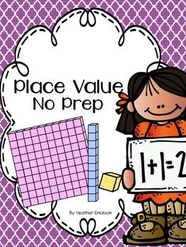 Place Value {No Prep}