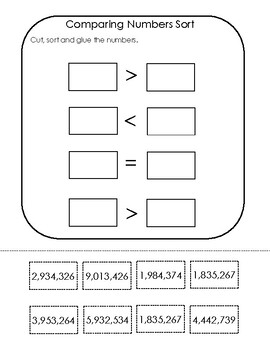 Place Value Notebook (Millions