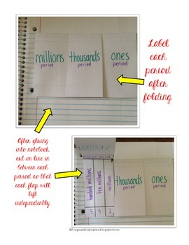 Place Value Notebook Package