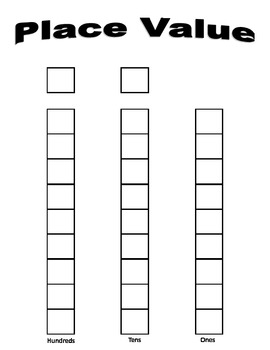 Place Value Number Card