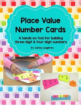 Place Value Number Cards {Building Number Sense}