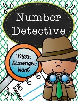 Number Detective - A Place Value Scavenger Hunt