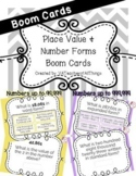 Place Value & Number Forms Boom Cards SOL 3.1a