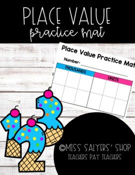 Place Value & Number Forms Practice
