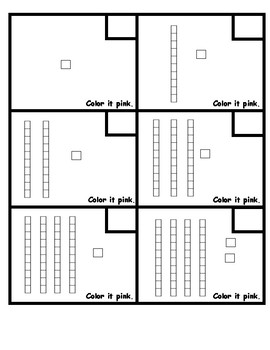 Place Value/Number Grid Coloring