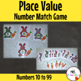 Place Value MAB Number Match Game