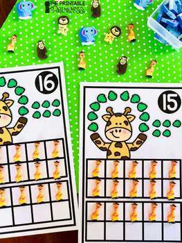 Place Value Number Mats {Kindergarten Math: Numbers 11 to 20}