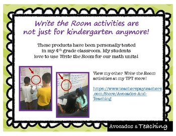 Place Value (Number Names, Comparing Numbers) Write the Room, Scoot  4.NBT.2
