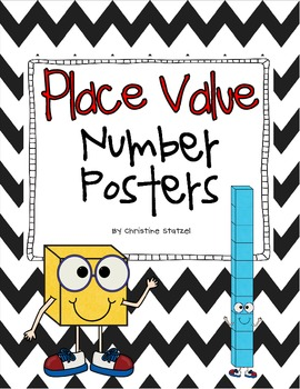 Place Value Number Posters