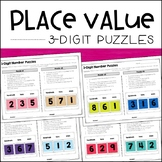 Place Value Puzzles (3-digit) - Enrichment Activities