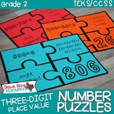 Place Value Number Puzzles: Standard Form, Expanded Form,