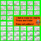 Place Value Number Sense 0-20: Halloween Number Puzzles - Easy Cut
