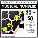 Place Value Number Sense Game Musical Numbers (with number
