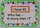 "Place Value & Number Sense Ten More & Ten Less Than ""I Hav"