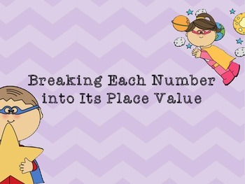 Place Value:  Number Talks for Second Graders