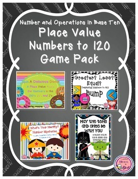 Place Value Game Bundle / Number and Operations Base 10 With Numbers To 120