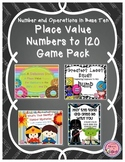 Place Value Game Bundle / Number and Operations Base 10 Wi