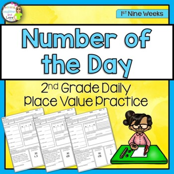 Place Value Number of the Day- 1st Nine Weeks