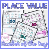 Place Value Worksheets | Number of the Day | Number Sense Morning Work