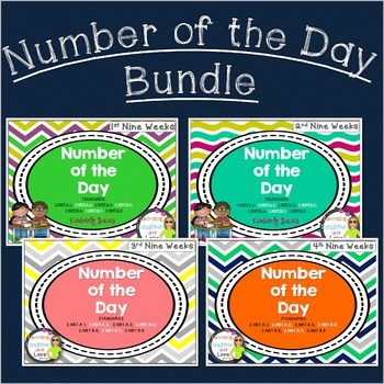 Place Value Number of the Day Yearlong Bundle