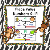 Composing and Decomposing Numbers to 19 Place Value Center Kindergarten K.NBT.1