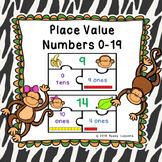 Math Game Kindergarten Decomposing Numbers using Place Value Kinder K.NBT.1